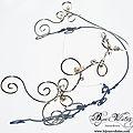 Très original collier mariage pour le dos, collier pour mariage avec grand dos nu