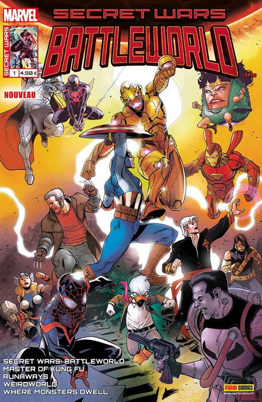 Panini Marvel : Secret Wars Battleworld