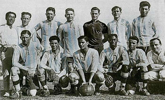 25 décembre 1925 ARGENTINE ... CHAMPION SUD-AMÉRICAIN