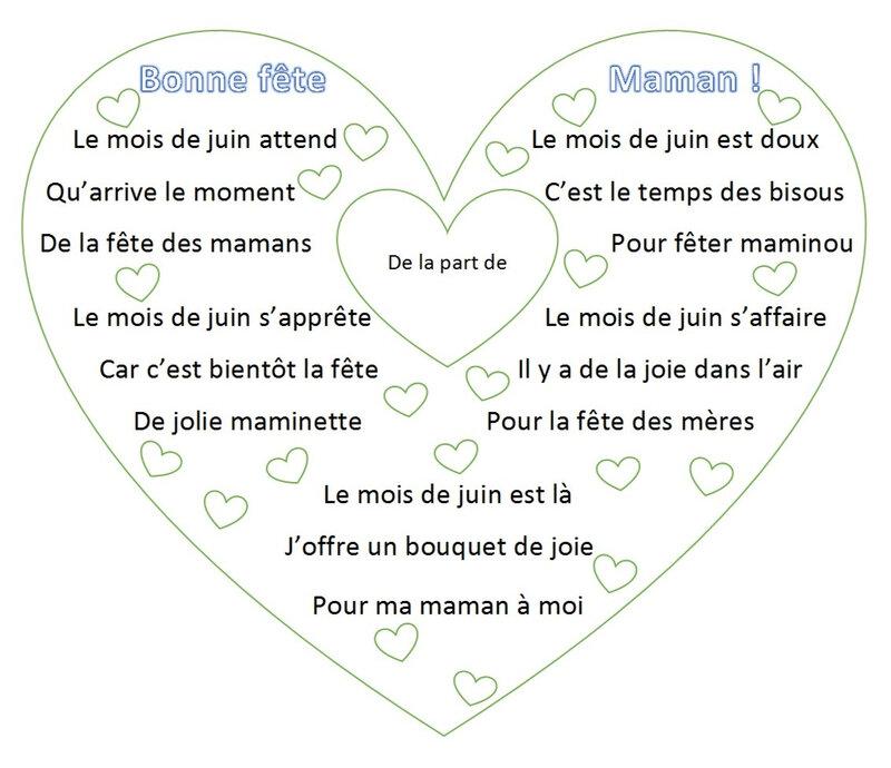 Bonne Fête Maman juin