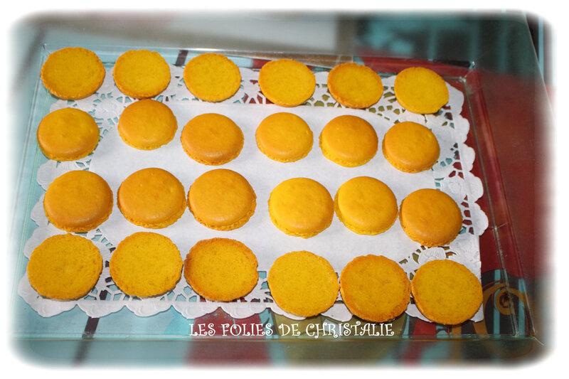 Macarons citron 4