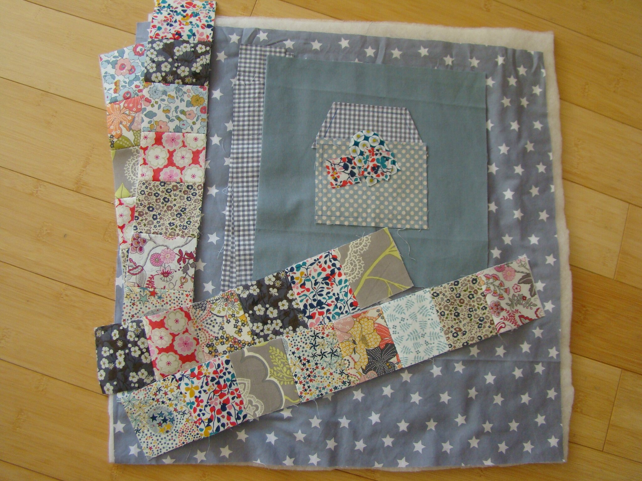 My sweet home mini quilt