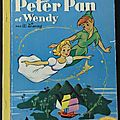 Livre collection ... peter pan & wendy (1955) * albums roses *