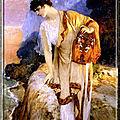 Sapphô / σαπφώ (vers 1630 – vers 1580 av. j. c.) : « et je ne reverrai jamais... »