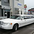Lincoln town car 8,60m limousine