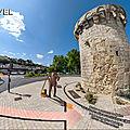 Paysages et monuments du poitou – tour du cordier, vestige des fortifications de poitiers et le photographe jules robuchon