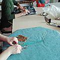 Samedi 29/04/17 : atelier bracelet en dentelle aux fuseaux