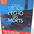 L'echo des morts (audiolib)