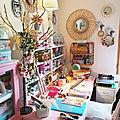 vanillejolie homedéco craftroom rose