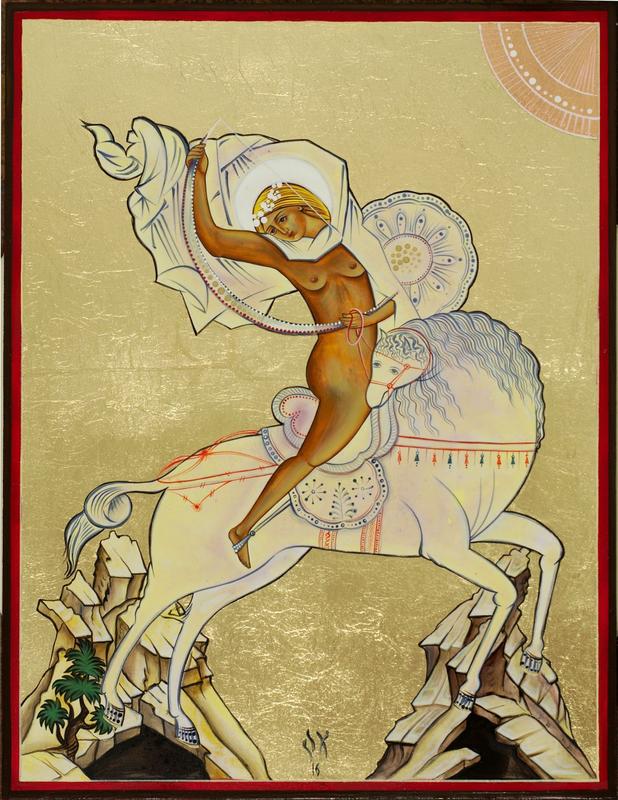 Oksana Shachko horse woman