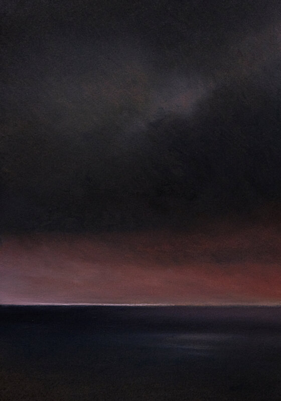 horizon elevation 85 pastel à l'huile, 45 x 32 cm oct 2018