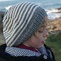 bonnet rayé laine schachermayr