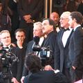 Thierry Frémaux, Oliver Stone et Michael Douglas