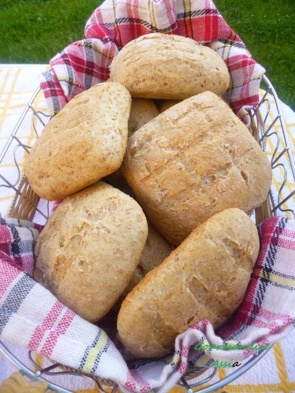 pain au son et huile
