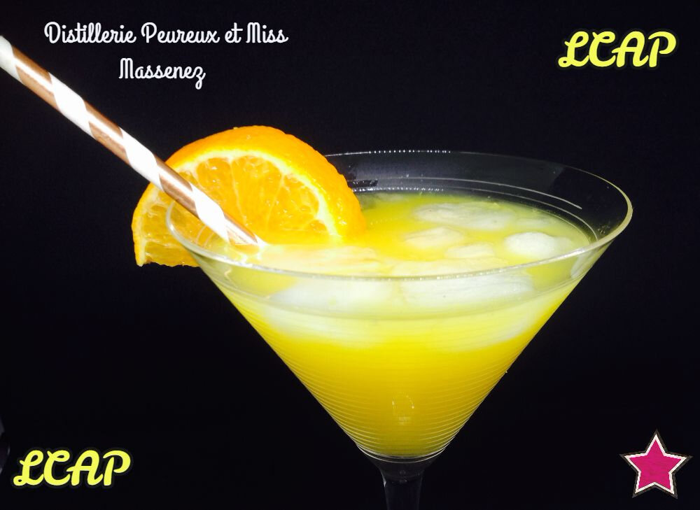 Cocktail Orange et Epices Miss Massenez