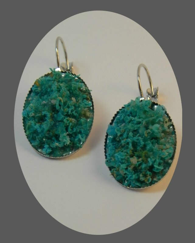 BO tortillons turquoise