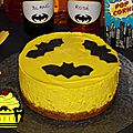 Sweet table batman - etape 5 : le cheesecake