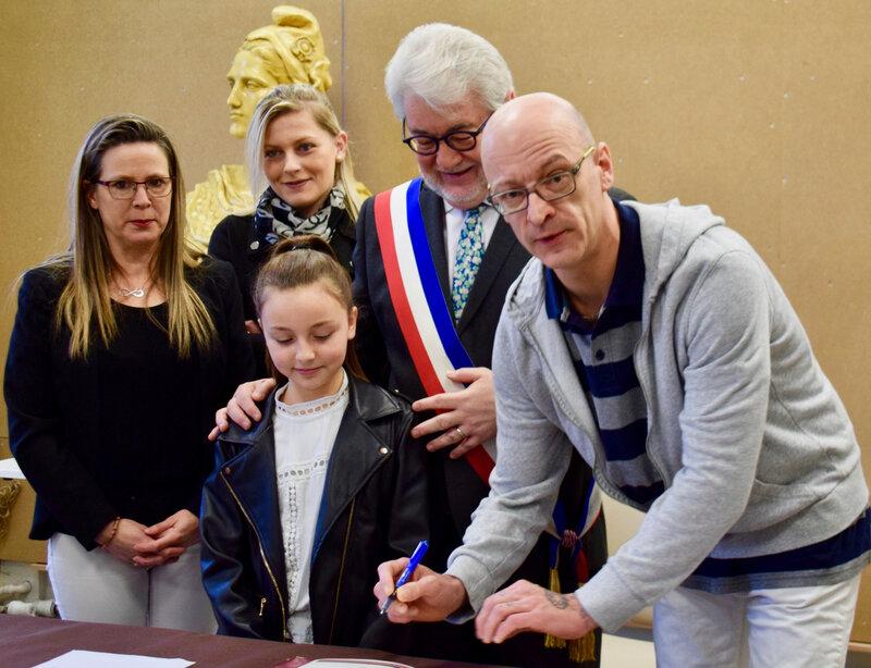 PARRAINAGE CAPUCINE CACOU 2020 signatures
