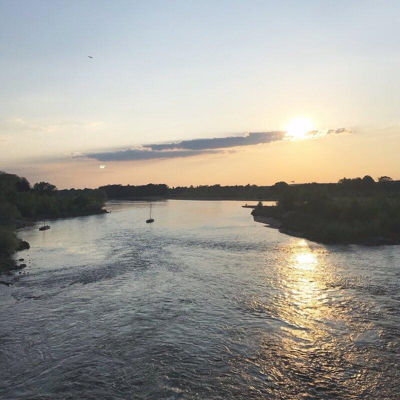 Coucher de soleil sur la Loire ©Kid Friendly