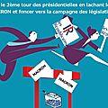 11 juin : 1er tour des élections législatives françaises