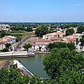 Aigues-Mortes (Gard - 30) Pont tournant