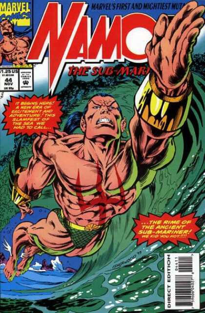 namor the sub-marine 1990 44