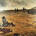 Restauration en public du tableau « mort du général d'elbée »