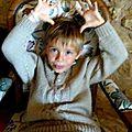 Hugo et son pull irlandais