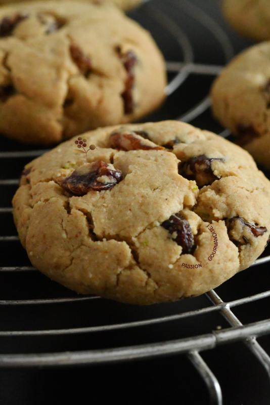 Biscuits croquants fondants purée de noix de cajou, citron vert & raisins_5