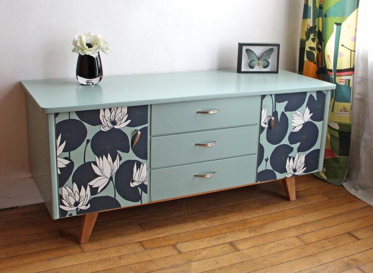 meuble-bas-vintage-lotus
