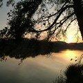 coucher de soleil sur l'étang_07