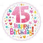 """Résultat de recherche d'images pour """"happy birthday 15 ans"""""""