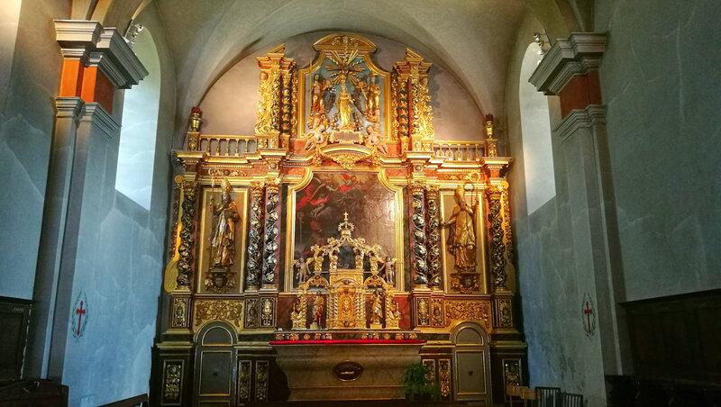 Combloux, église Saint-nicolas, retable