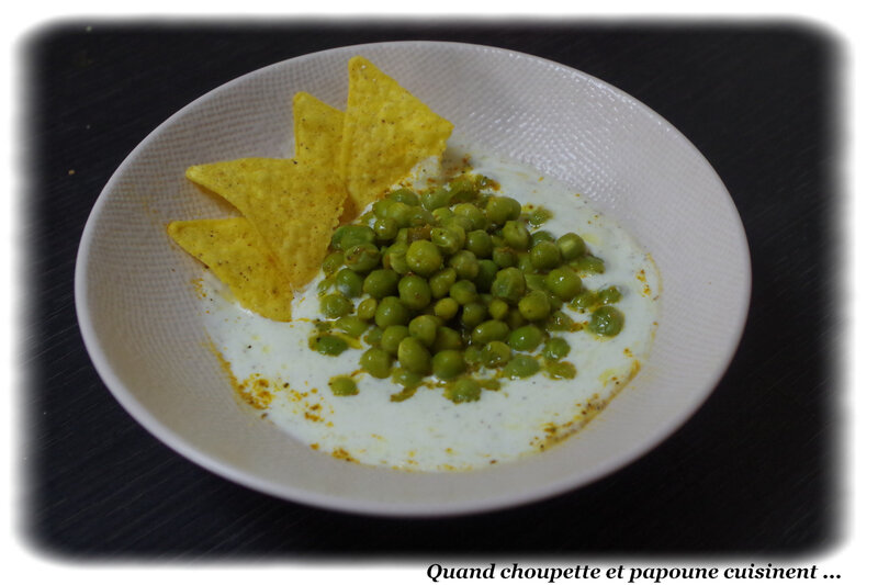 petits pois vinaigrette au curry et yaourt acidulé-2774