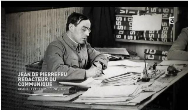 1918 11 04 Jean de Pierrefeu pendant la guerre