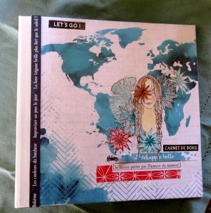 un album avec des tampons L'Encre et l'image....