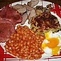 Saint patrick : full irish breakfast