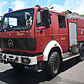 Mercedes 1634 camion de pompiers équipé par ziegler