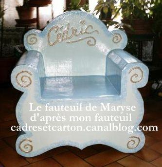 Fauteuil Véro version Maryse