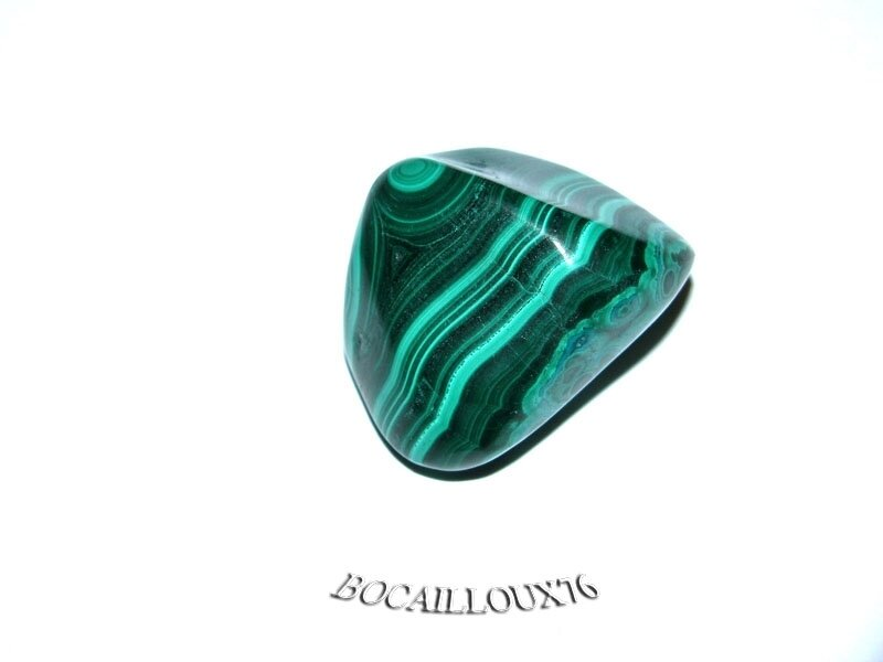 MALACHITE 1 Roulée - Pour CREATION - LITHOTHERAPIE