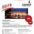 Concert hamap du samedi 9 avril à 20h30 à l'atrium de chaville