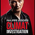 Climat investigation - philippe verdier - editions ring