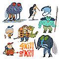 Skill of kill persos