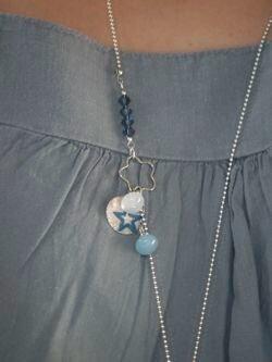 Sautoir blue 2
