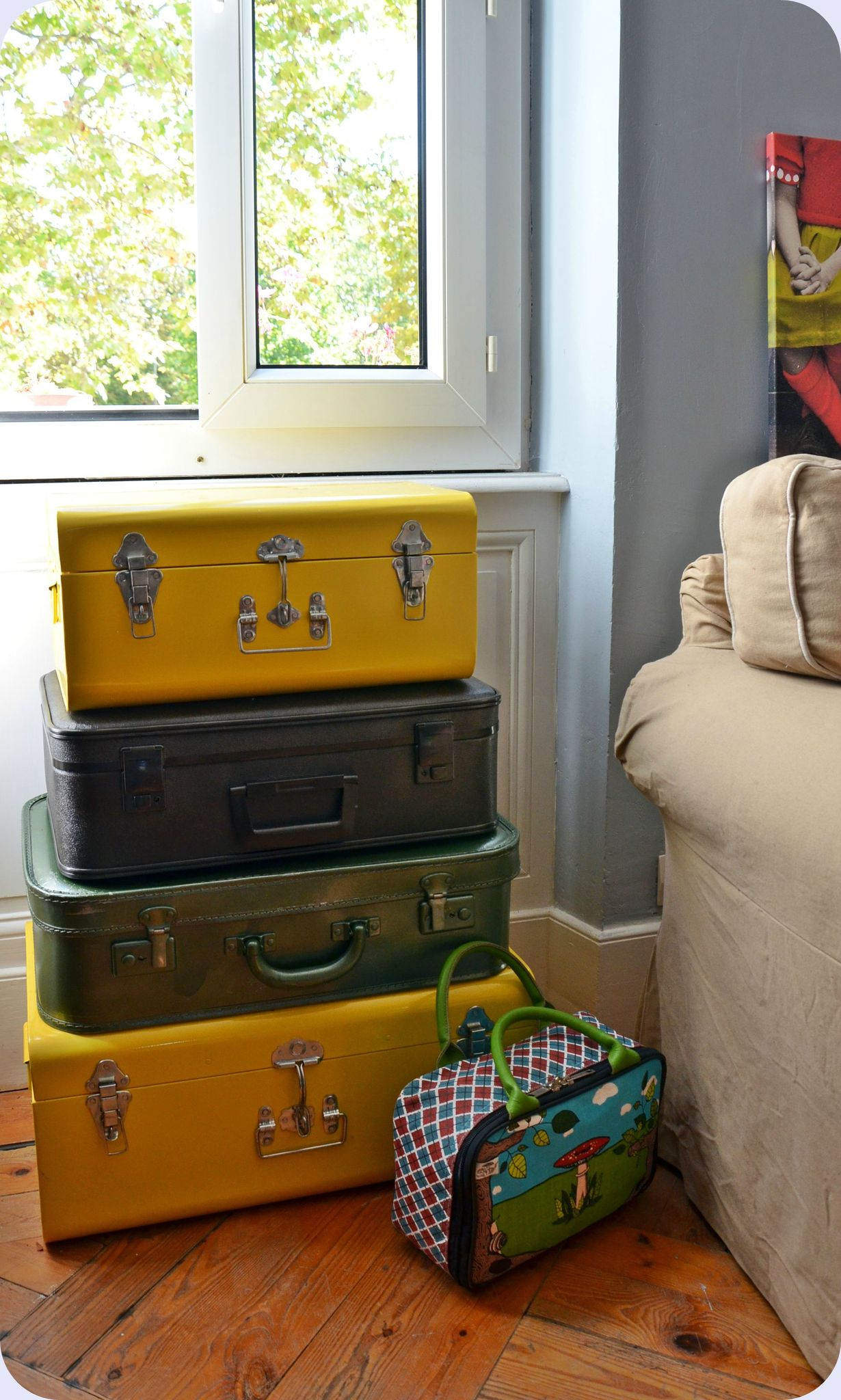 commode valises
