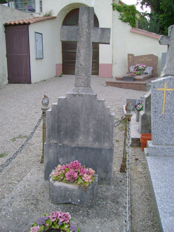 109 - Tombe de Caroline Seno épouse Mingeaud