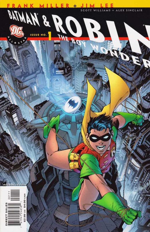all star batman & robin the boy wonder 01 variant