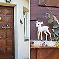 Déco de noel : la porte d'entrée