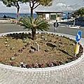 Rond-point à villa san giovanni (italie)