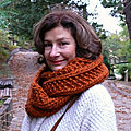 Diy: le snood cinnamon crazy